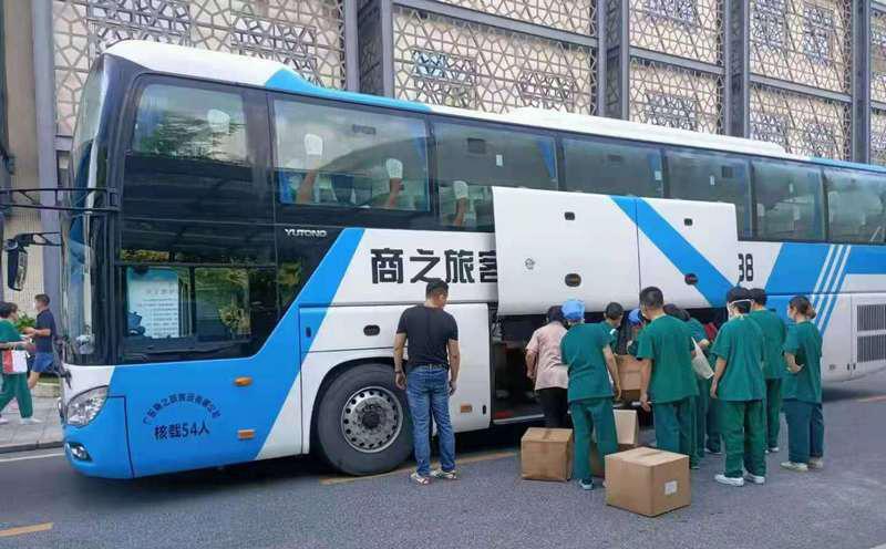 竭诚尽责 | 商之旅客运全力以赴,为疫情防控尽每一份力!