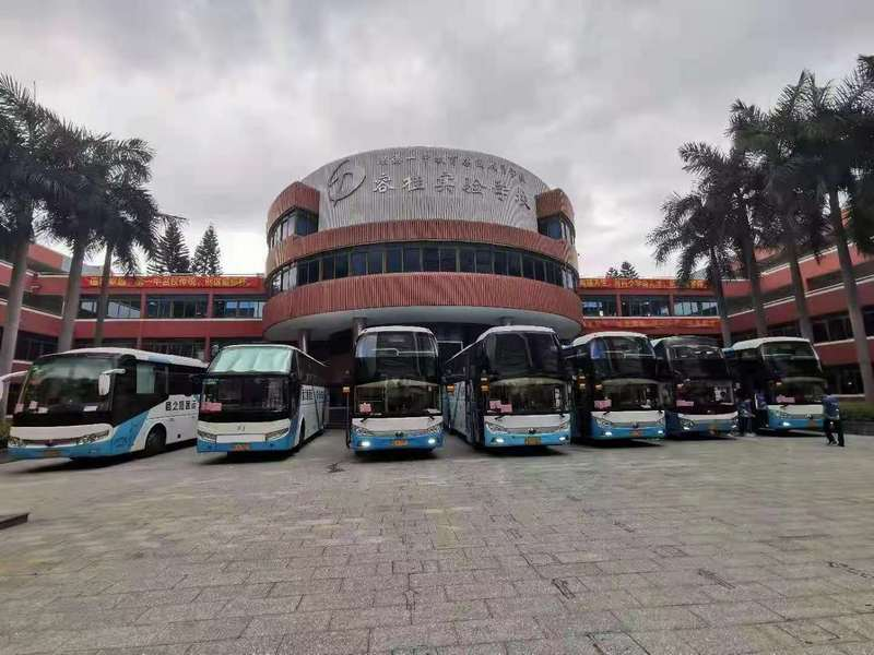 商之旅巴士全力接送,助力护航中考,2021年中考圆满结束!